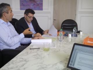 Maître Larmaraud et Jean-François Chaillou