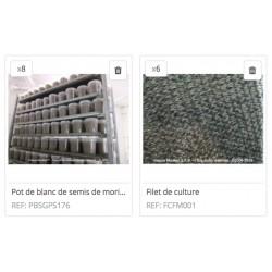 Kit Morilles « Grand Jardin 20m2 + Filets»